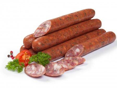 Bavarian sausages